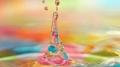 Капля, ярко, вода, разноцветное. обои Капля, ярко, вода, разноцветное.